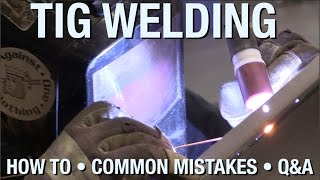 Learn the Basics of TIG Welding & Understand Common Mistakes - A Live Demonstration from Eastwood(We went #live on Thursday June 30, 2016 for a TIG Demonstration. Matt goes over the basics of TIG welding and goes over some common mistakes that people ..., 2016-06-30T19:54:55.000Z)