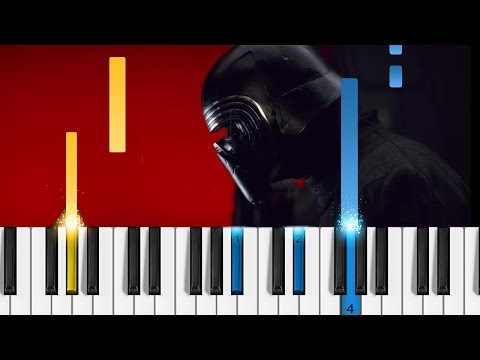Star Wars: The Last Jedi Trailer - Piano Tutorial - How to play the music from Star Wars