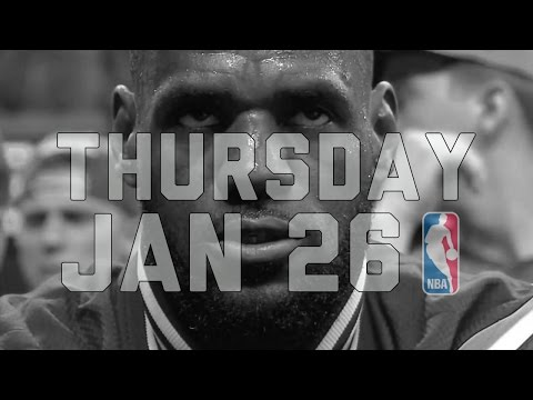 NBA Daily Show: Jan. 26 - The Starters