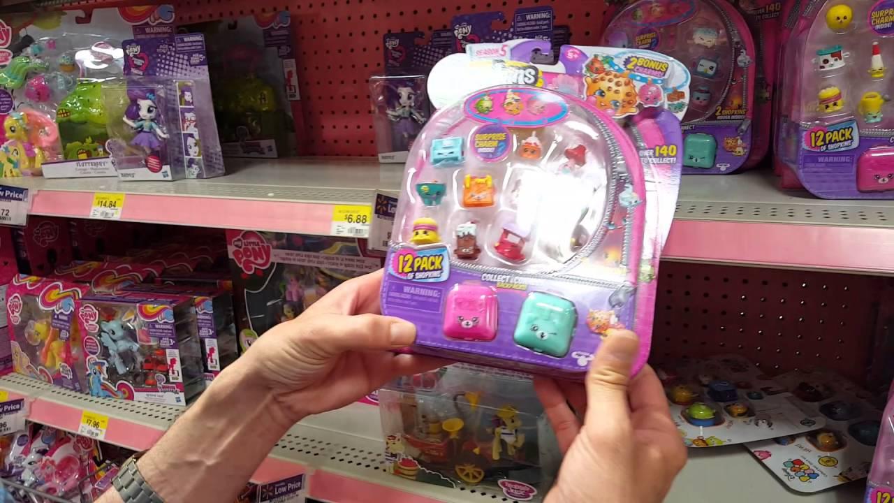 Toy Hunting Finding Season 5 Shopkins At Walmart Youtube
