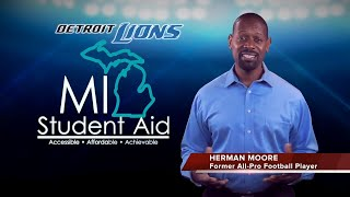 Herman Moore for Michigan.gov/Mistudentaid