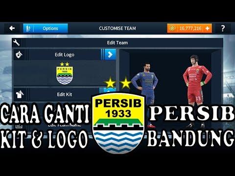 How To Create Persib Bandung Team Kits & Logo | Dream League Soccer 2019.