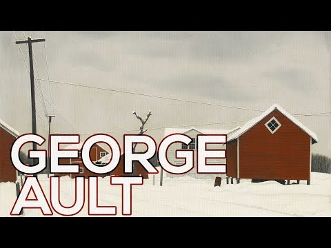 George Ault: A Collection Of 64 Paintings (HD)