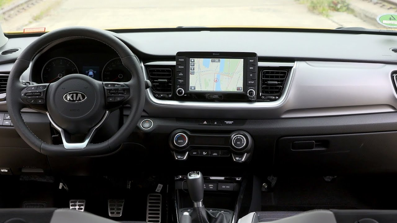 2018 Kia Stonic in - Interior - YouTube