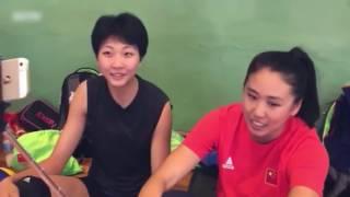 郎平女儿采访中国女排队员,笑料百出啊~~