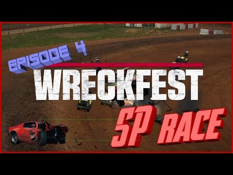 WreckFest Episode 04-Bloomfield speedway(Single Player RACE)