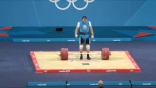 Ilya Ilyin - Clean and Jerk 233 Kg @ 94 Kg (WR) for 418 Kg Total! (WR) at London 2012!