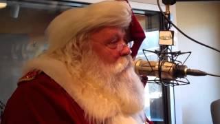 93 year old pulls santa