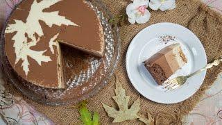 Муссовый торт Три шоколада(Для бисквита: - 3 ст.л. муки с горкой; - 1 ч.л. разрыхлителя; - 1 ст.л. какао; - 4 ст.л. сахара; - 50 гр. слив. масла; - 1..., 2016-10-15T13:45:18.000Z)