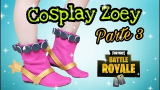 "(Part 3) Full Cosplay Tutorial ""Zoey Fortnite""-DIY Boot"