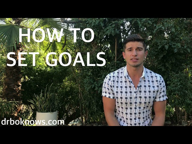 How to Set Goals - Dr. Bo Knows
