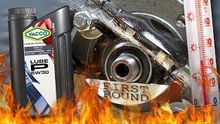 Yacco Lube P 5W30 Jak skutecznie olej chroni silnik? 100°C