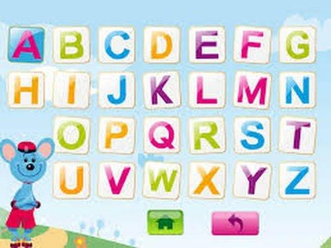 les lettres d'alphabet francais abc حروف اللغة الفرنسية