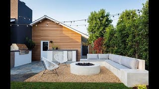 Backyard Decor and Flooring Materials Design Ideas