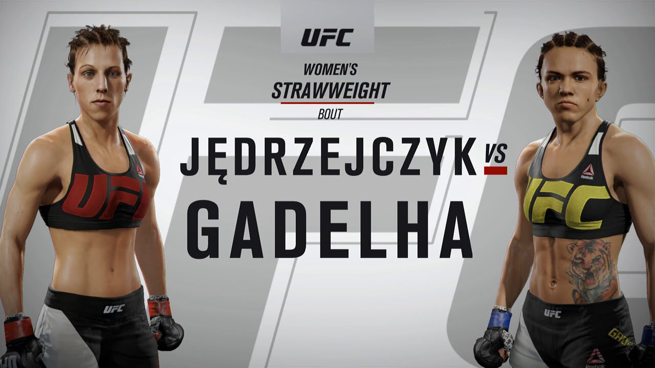 EA SPORTS™ UFC® 2 EPIC CHICK FIGHT - YouTube