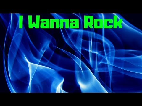 I Wanna Rock #TGIF🎵 #rocknroll 🎸#heavymetal