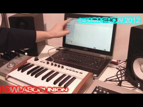 Music OS - Dell Touch Screen Laptop ~NAMM Show: Anaheim, Ca. 2012
