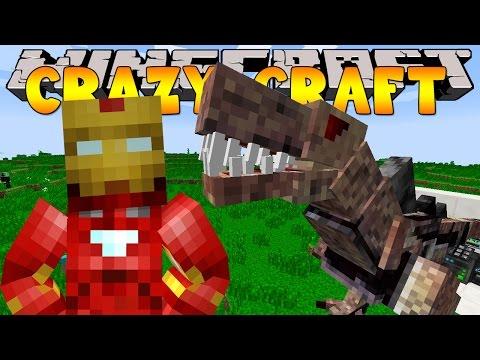 Minecraft Crazy Craft 3.0 : DINOSAUR DUNGEON #34