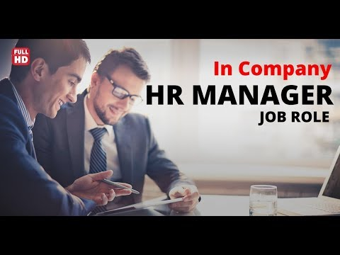 the role of a manager in a company or organization