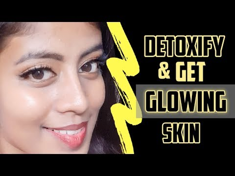 detoxification drinks |glowing skin naturally at home|low calorie breakfast