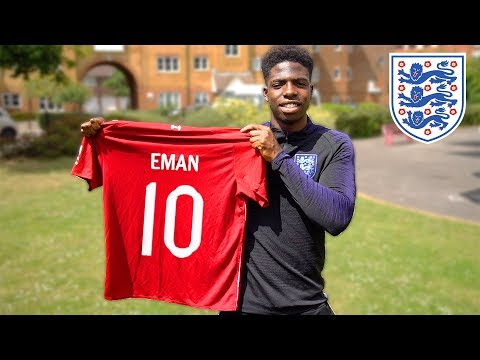 I AM PLAYING FOOTBALL FOR ENGLAND IN THE WORLD CUP!!