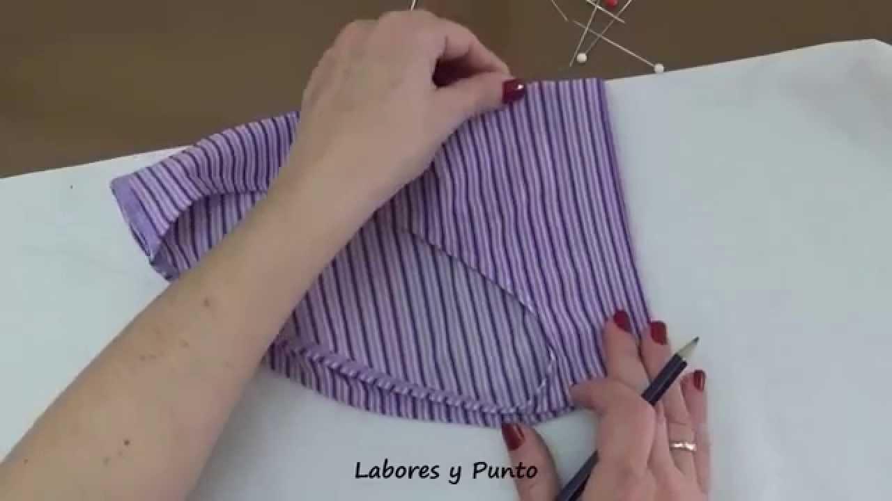 Como preparar el patrón para hacer la braga de bikini a ganchillo ...