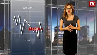 InstaForex tv news: EUR falls against USD while GBP maintains momentum  (20.02.2018)