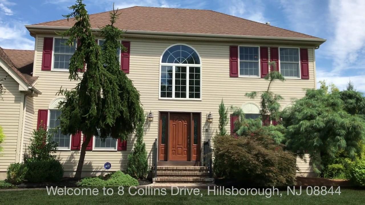 House For Sale 8 Collins Drive Hillsborough NJ 08844   Virtual Tour