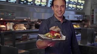 Vincent Oud (AnyTyme) presenteert de Italian Pizza Burger