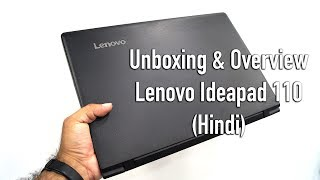 Lenovo Ideapad 110 Unboxing amp Overview Hindi-
