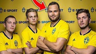 JAG ÄR MED I SVENSKA FIFA-LANDSLAGET!!! 🔥