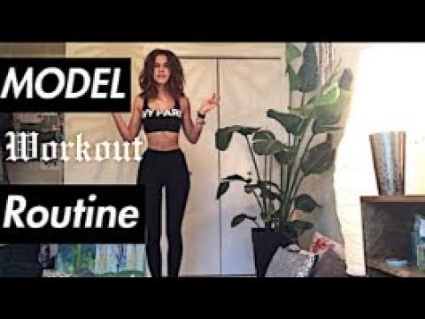 UPDATE | MODEL FITNESS ROUTINE