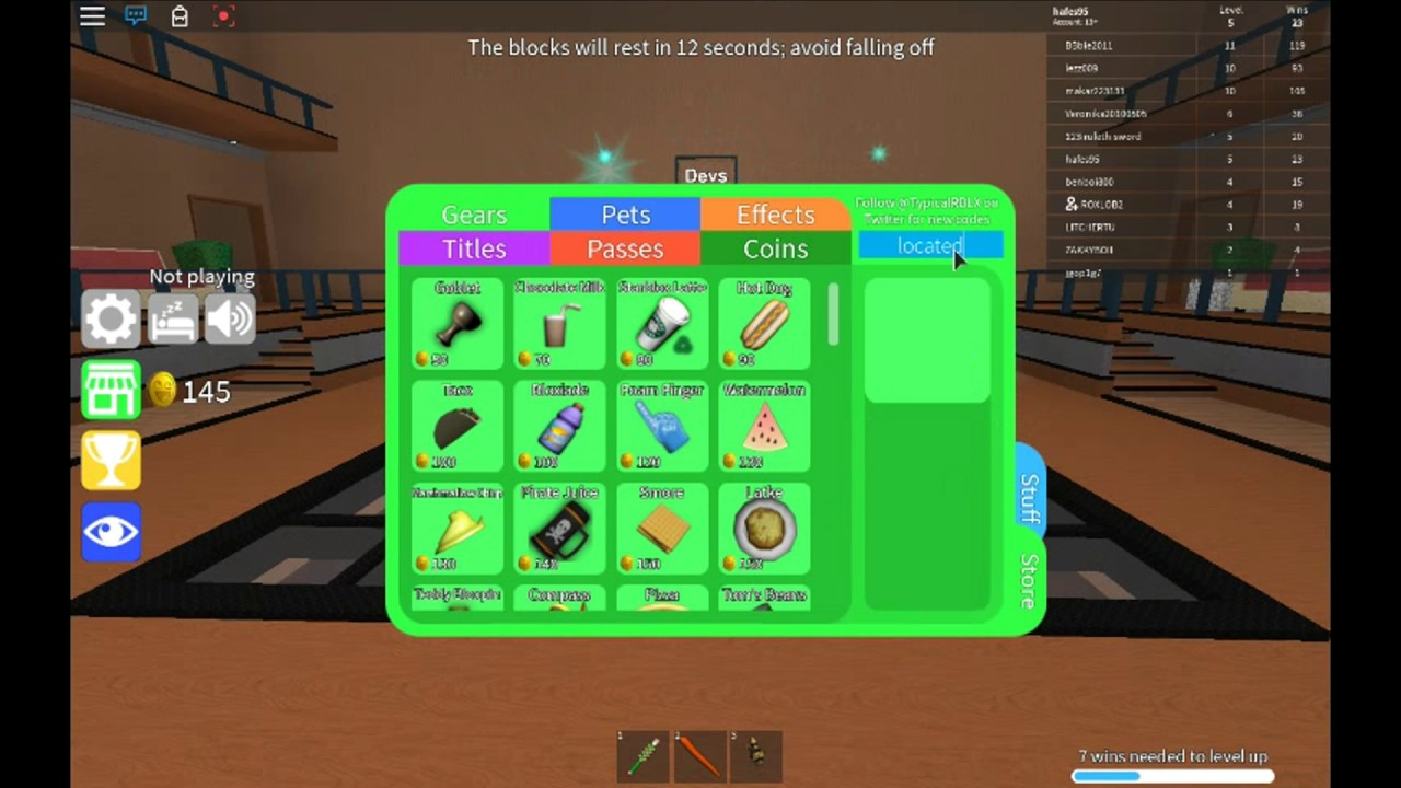 Codes In Epic Minigames Roblox