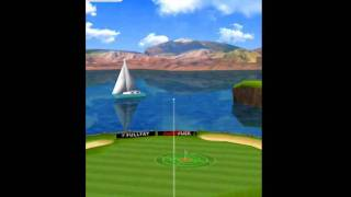 Flick Golf game play