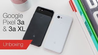Google Pixel 3a and 3a XL unboxing & first impressions