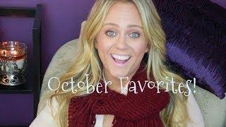 October Favorites!