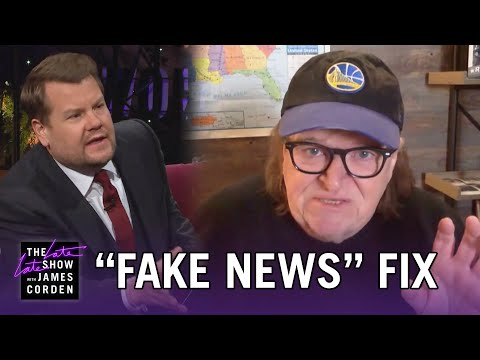 Michael Moore Has an Answer for 'Fake News'