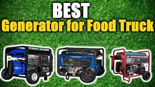 Best Generator for Food Truck 2019 [RANKED] | Best Reviews USA