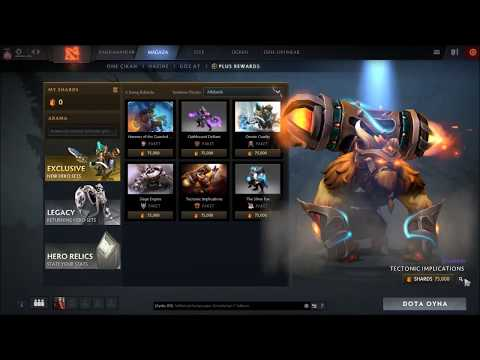 Dota 2 Plus- New Dota System- 6 Kind Of Arcana Sets