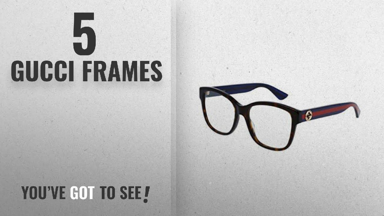 Top 10 Gucci Frames [2018]: Optical frame Gucci Optyl Dark Havana ...