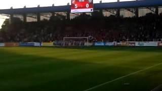 Viktoria Plzeň - Příbram 5:0 - děkovačka 2.část