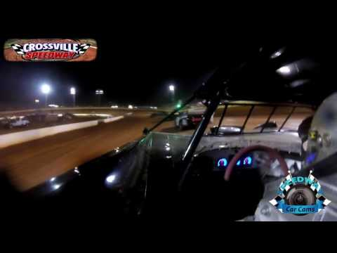 #17 Andy Miller Crate Late Model - 9-23-16 - Crossville Speedway - In-Car Camera