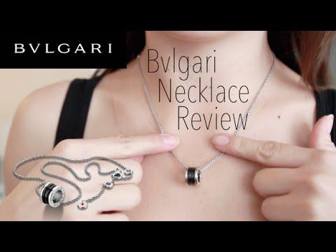 CLASSIC Bvlgari Ceramic Pendant Necklace Review