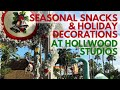 Seasonal Snacks and Christmas Decorations at Disney's Hollywood Studios!  (WORLD OF MICAH)