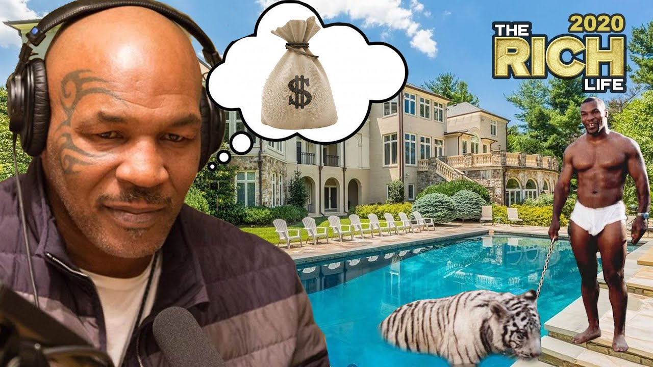 Mike Tyson | The Rich Life | How He Lost His $700 Million Fortune