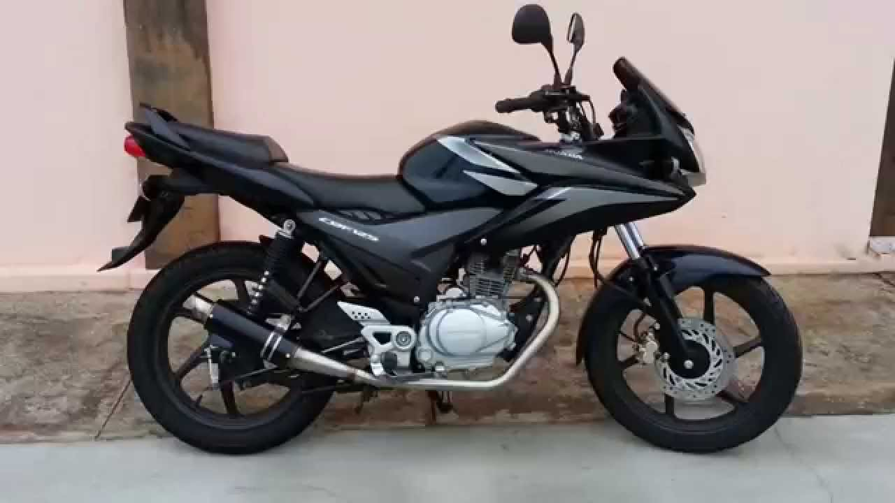 honda cbf 125 escape escorpiao completo youtube. Black Bedroom Furniture Sets. Home Design Ideas