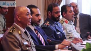 بالفيديو : لقاء ممثلى رؤساء هيئات التدريب فى القوات المسلحة العربية