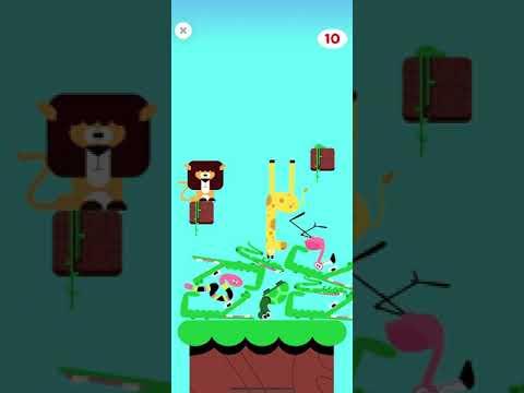 Safari stacking game (Lingokids) |