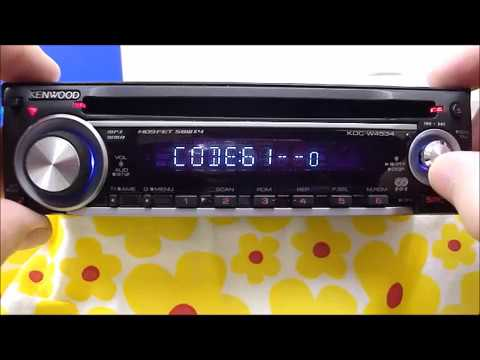 Enter Kenwood Radio Code Guide