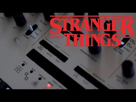 Stranger Things Theme on Korg Minilogue
